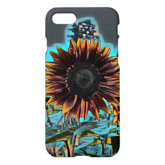 Graphic Sunflower iPhone 7 Case