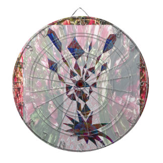 GRAPHIC TREE Patchwork of Papercut Art photography Dartboard