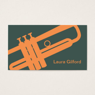 Graphic Trumpet Business Card
