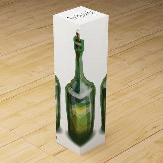 Graphic Wine Bottle Gift Box Wine Bottle Box