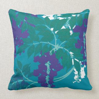 Graphic Wisteria Pillow