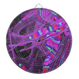 graphical wild colorful dartboards