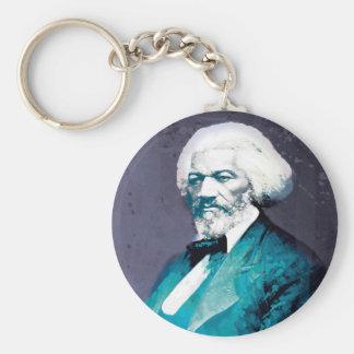 Graphics Depot - Frederick Douglass Portrait Basic Round Button Keychain