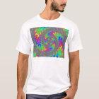 Graphics Diversified Firey Rainbow Swirl T-Shirt