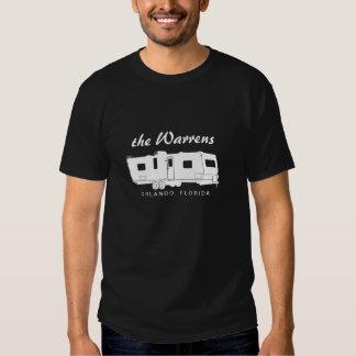 Graphique de silhouette de la remorque rv de tee shirts