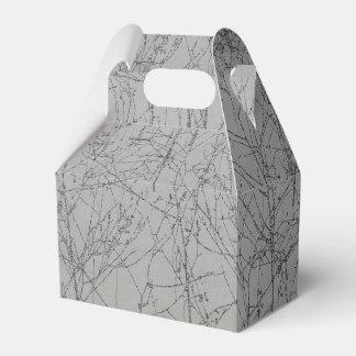 Graphite 'Tree' Favour Box