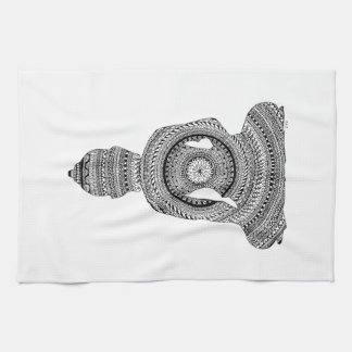 GraphiZen Buddha Kitchen Towel