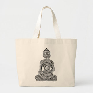 GraphiZen Buddha Large Tote Bag
