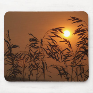 Grass Fire Mouse Pad