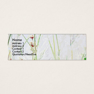 Grass/Flowers Simple Profile Card