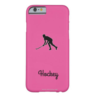 Grass Hockey Player Barely There iPhone 6 Case
