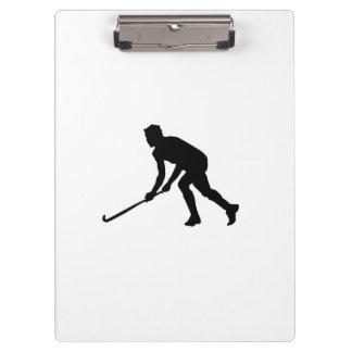 Grass Hockey Player Clipboard