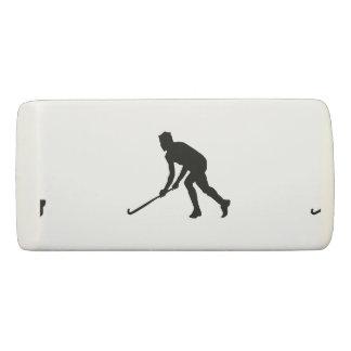 Grass Hockey Player Eraser