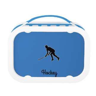 Grass Hockey Player Lunch Box