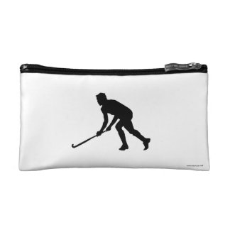 Grass Hockey Player Makeup Bag