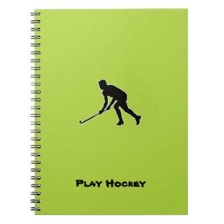 Grass Hockey Player Notebook