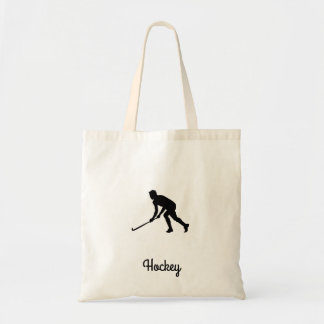 Grass Hockey Player Tote Bag