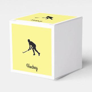 Grass Hockey Player Wedding Favor Box