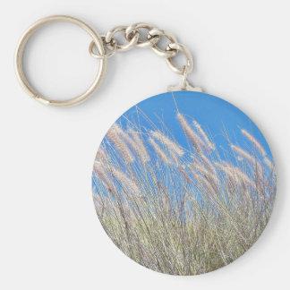 Grass In The Wind Keychain