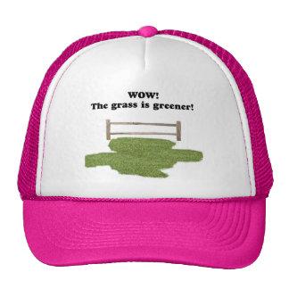 GRASS IS GREENER CAP TRUCKER HAT