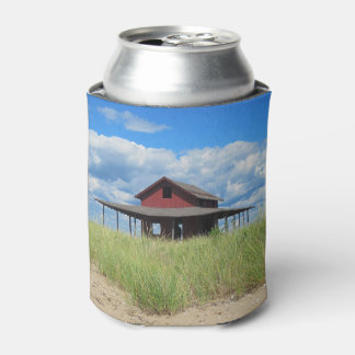 Grass Island Beach Can Cooler