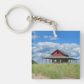 Grass Island Key Chain