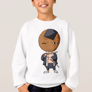 Grass karo Jiro English story Soka Saitama Sweatshirt