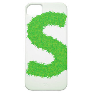 Grass Letter Case For The iPhone 5