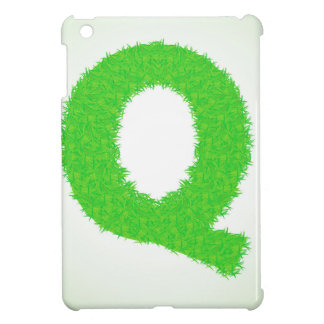 grass letter cover for the iPad mini
