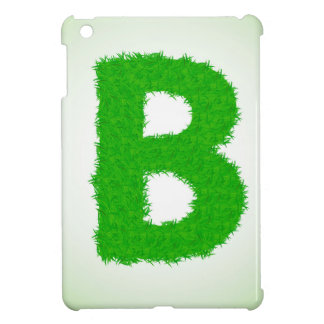 grass letter iPad mini cover