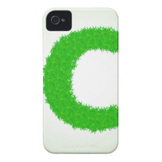 grass letter iPhone 4 Case-Mate case