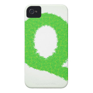 grass letter iPhone 4 cover