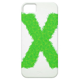 grass letter iPhone 5 case
