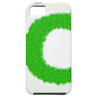 grass letter iPhone 5 cover