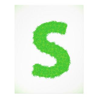 Grass Letter Letterhead