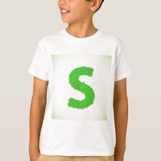 Grass Letter T-Shirt