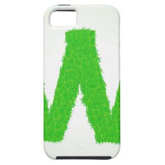 Grass Letter W iPhone 5 Case
