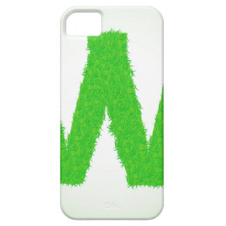 Grass Letter W iPhone 5 Cover