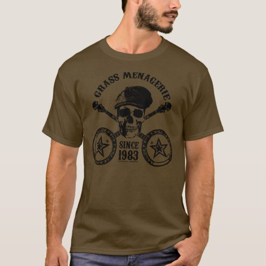 Grass Menagerie (black) T-Shirt