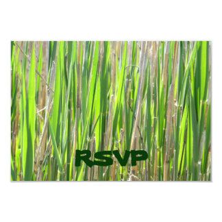 Grass Skirt Custom RSVP Cards
