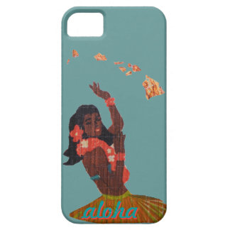 Grass Skirt Hawaiian Girl Case For The iPhone 5