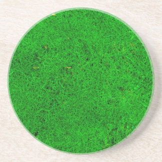 Grass Texture Drink Coasters