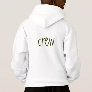 "Grass Valley Charter Hoodie ""crew"" on back (kids)"