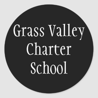 Grass Valley Charter Stickers