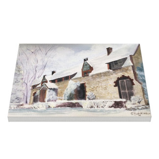 GRASS VALLEY, EMPIRE MINE COTTAGE, CALIFORNIA CANVAS PRINT