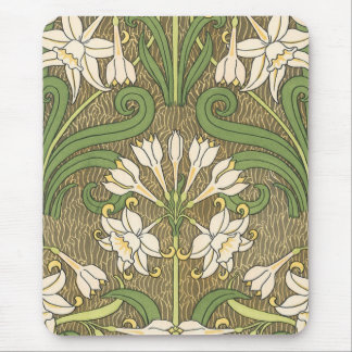 Grasset's Art Nouveau Daffodil - Mousepad