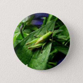 Grasshopper 2 Inch Round Button