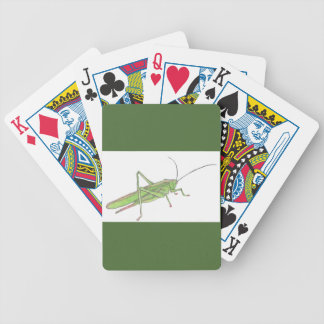 Grasshopper Bicycle Playing Cards