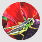 Grasshopper Classic Round Sticker