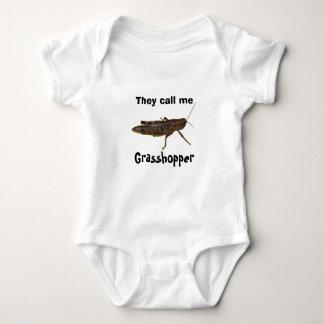 Grasshopper Design Baby Bodysuit
